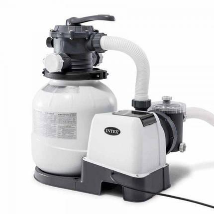 Фильтр-насос песочный Intex 26648 KRYSTAL CLEAR, 10000 л/ч, фото 2