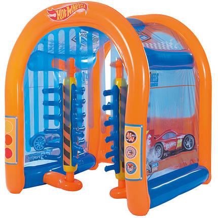 Детский надувной центр Bestway 93406 «Автомойка Hot Wheels», фото 2