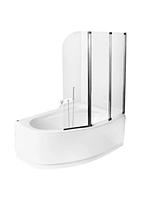 Шторка на ванну Besco PMD Ambition-3S