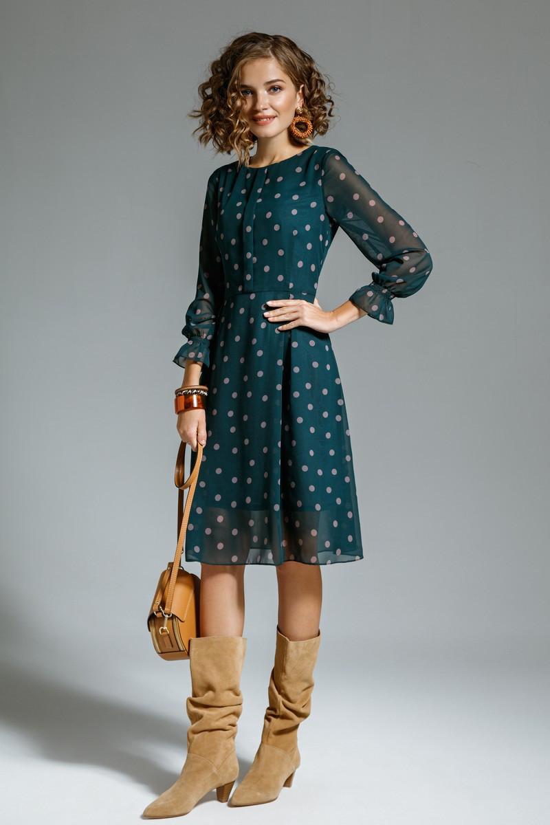 Платье женское Беларусь модель М-7291-20 горох