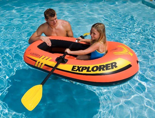 """Intex надувний човен """"Explorer 100"""" 147х84х36 (58329)"""