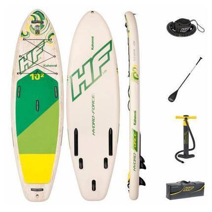 Дошка для серфінгу SUP-БОРД Bestway 65308 (310-86-15см), фото 2