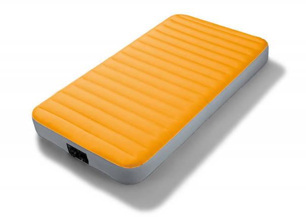 Надувний матрац Intex 64791 з вбудованим насосом на батарейках, 191 х 99 х 20 див., фото 2