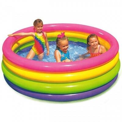 Дитячий надувний басейн Intex 168х168х46 см (56441), фото 2
