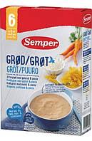 Каша Semper Мультизлаковая молочная с морковью Спокойной ночи, 250 г, 6+