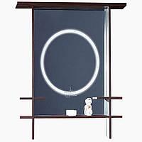 Зеркало в ванную с LED подсветкойЗ-Япония (60-100 см)