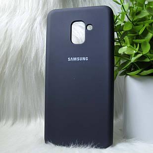 Чохол Samsung A730 A8+ 2018 чорний