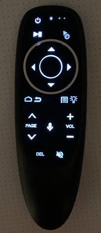 Пульт-миша Air Mouse G10S PRO c підсвічуванням і голосовим управлінням, фото 2
