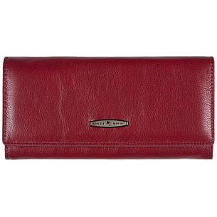 Кошелёк женский кожаный бордовый KOCHI  190х95х30 застёжка кнопка м КУ2091бор, фото 2