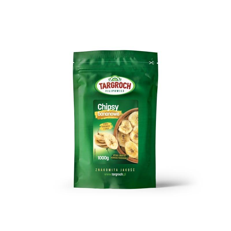Банановые чипсы 1 кг, Targroch