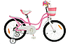 Велосипед Royal Little Baby Swan 18 рожевий