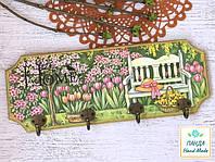 "Вешалка-панно ""Весенний сад"""