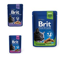 Вологий корм Brit Premium Брит Преміум