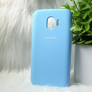 Чехол Samsung J250 J2 Pro 2018 синий