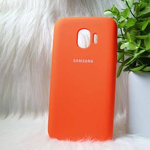 Чехол Samsung J250 J2 Pro 2018 оранжевый