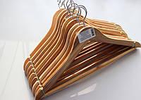 Плечики для одежды деревянные набор 10 шт