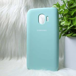 Чехол Samsung J250 J2 Pro 2018 бирюзовый