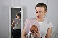 Полотенце для гигиены новорожденного, Капучино