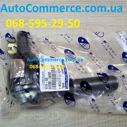 Наконечник поперечной тяги правый Hyundai HD78, HD65 D4DD, D4DB Хюндай hd (568905K000), фото 2