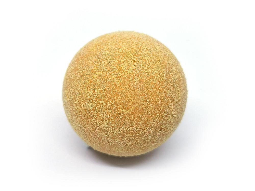 М'яч для настільного футболу Artmann 32мм жовтий ворсистий