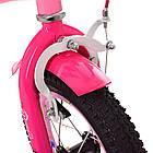 Велосипед дитячий двоколісний PROFI Y1221 Bloom 12 дюймів рожевий, фото 3