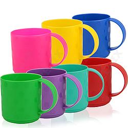 Чашка пластиковая Горошек 350 мл