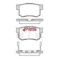 Колодки тормозные дисковые задние Honda  CIVIC VI (98-00),CR-V II(02-06г),FR-V (BE 2005-),032552