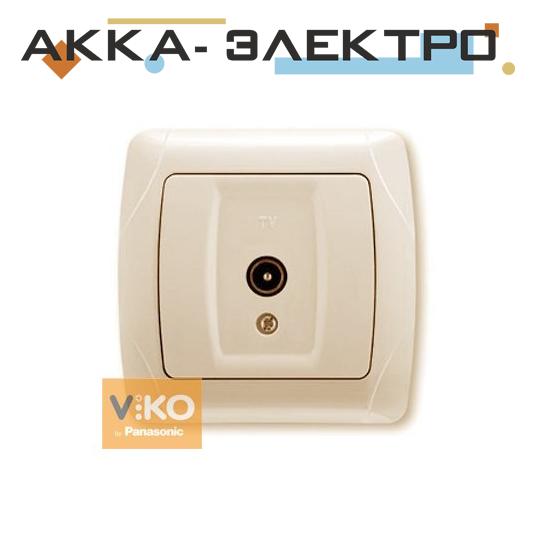 Розетка TV крем ViKO Carmen 90562010