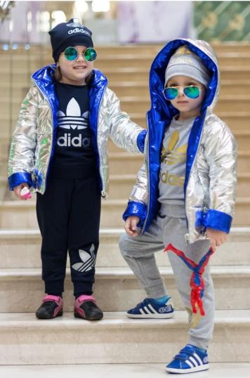 Куртка детская двухсторонняя