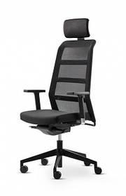 Кресло Paro_2 з высокою спинкою, подголовником и подлокотниками