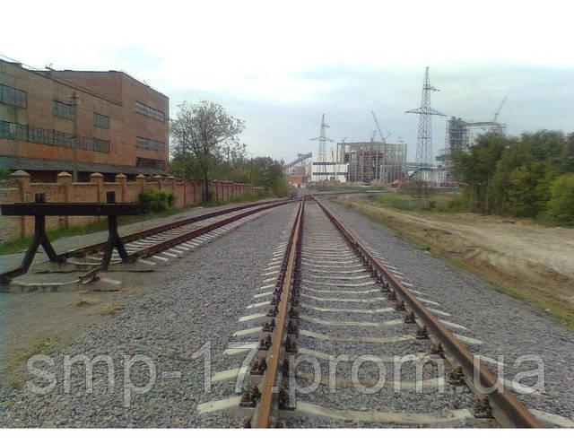 Тупиковый упор железнодорожный