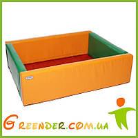 Детский манеж-бассейн KIDIGO Прямоугольник 1,5 х 1,2 м