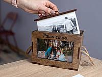 Альбом для фотографий-короб, фотобокс