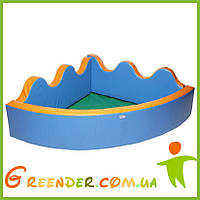 Детский Сухой бассейн с шариками KIDIGO Небо 2 м