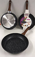 Сковорода с антипригарным мраморным покрытием Benson BN-525 - 26 cм