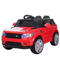 Детский электромобиль Range Rover (2 мотора по 30W, 2 аккум, MP3, USB) Джип Bambi M 3402EBLR-3 Красный