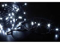 Гирлянда светодиодная LED 100 с черным проводом 218-21513561