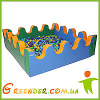Детский Сухой бассейн с шариками KIDIGO Море 2 м