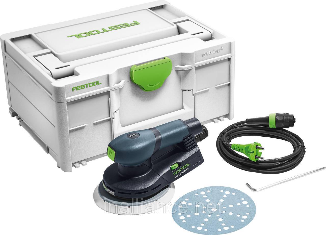 Шлифмашинка эксцентриковая ETS EC 150/3 EQ-Plus Festool 576320