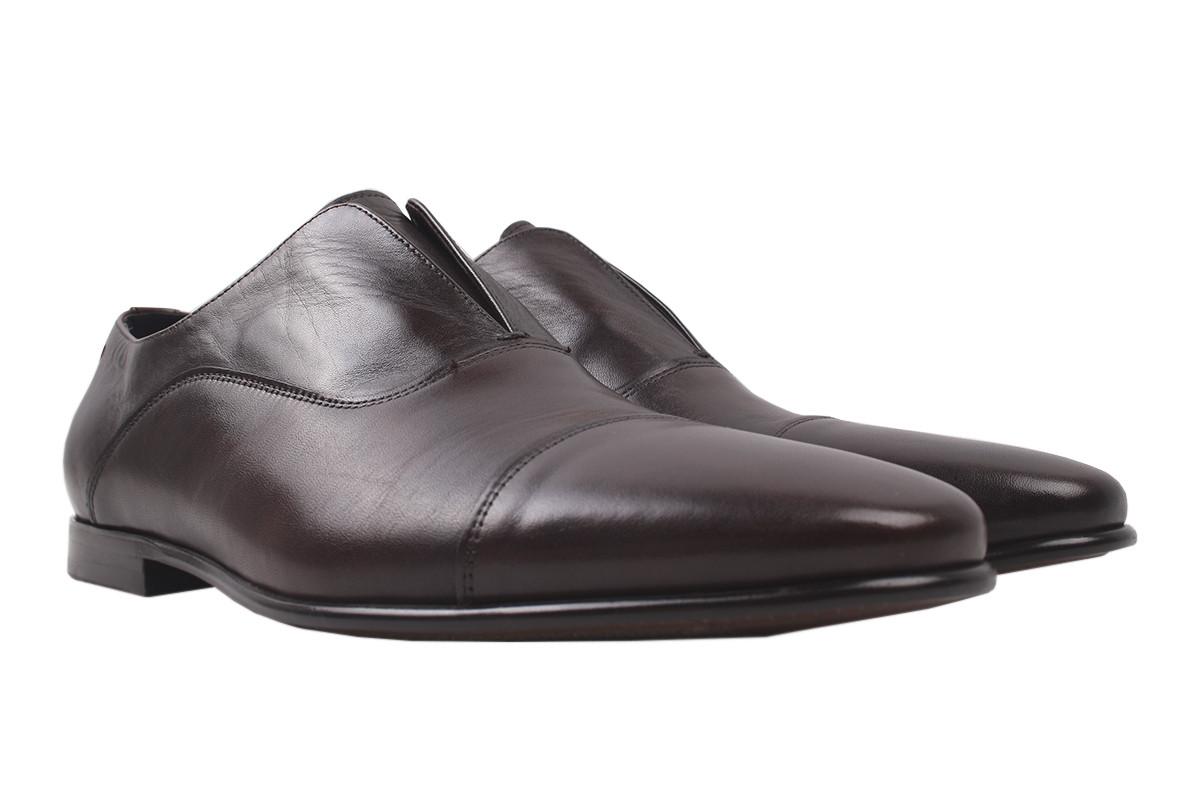 Туфлі чоловічі Antoni Bianchi натуральна шкіра, колір бордо, розмір 39-44