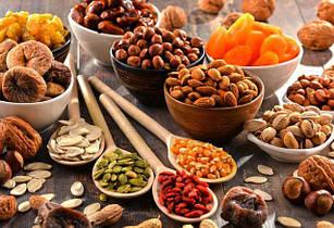 Орехи, сухофрукты
