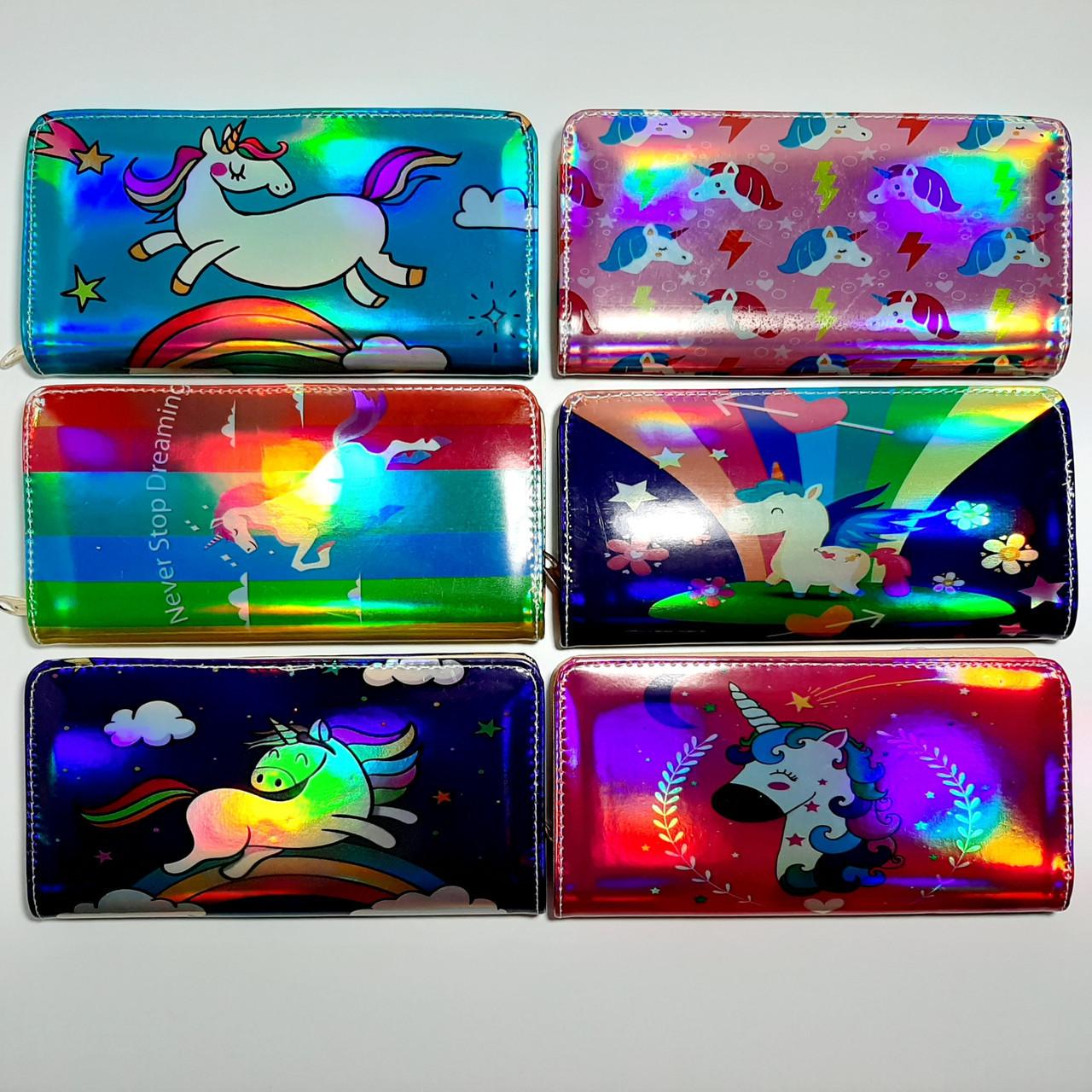 Дитячий гаманець для дівчаток лакований