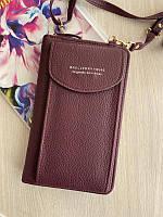 Женская мини сумка клатч кошелек