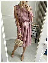 Платье миди в расцветках 19275, фото 3