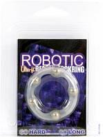 Эрекционноее кольцо удлиняет акт улучшает эрекцию Robotic Beaded Cockring