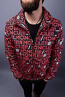 Мужской стильная ветровка (красная) MNCLR