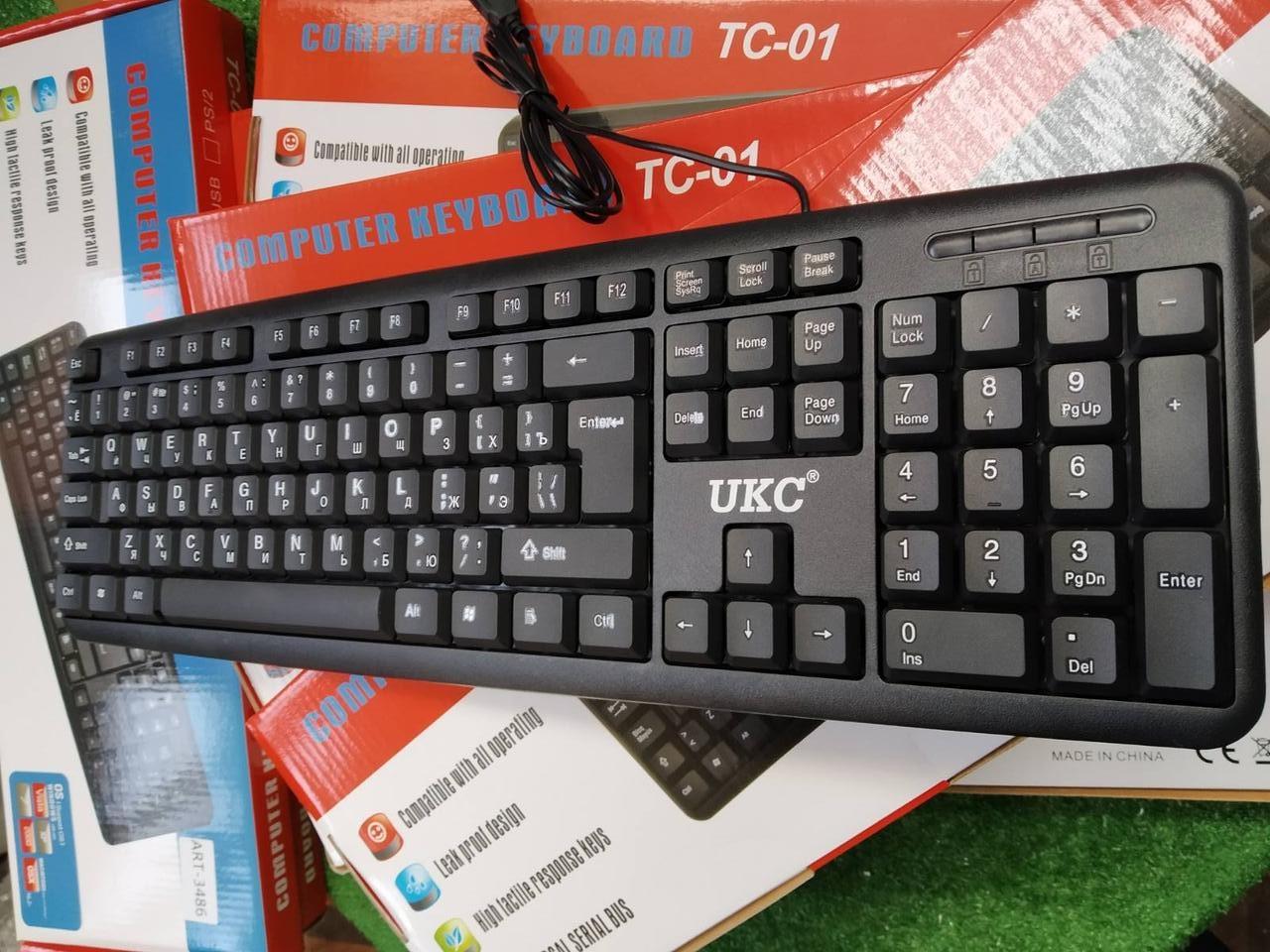 Новая! USB клавиатура UKC  Есть ОПТ
