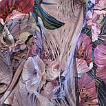 Павлопосадский платок 10388-2 шелковый (крепдешиновый) с подрубкой, фото 8