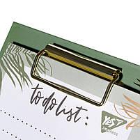 Бумага для заметок YES To Do VIVERE, клипборд с магнитом, карандаш, блок 52 листа  код:170253, фото 2