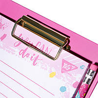 Бумага для заметок YES To Do HOTCH POCH, клипборд с магнитом, карандаш, блок 52 листа  код:170260, фото 2